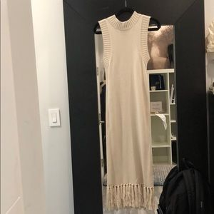 Finders Keepers beige maxi dress